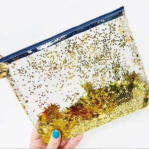 Oh My Stars Everything Pouch Glitter Travel